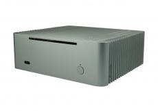 Nanum SE-TC5 passiv gekühltes Mini-ITX Gehäuse silber
