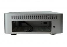 Nanum SE-TC5-N passiv gekühltes Mini-ITX Gehäuse silber