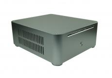 Nanum SE-W80OD Slot-In Mini-ITX Mini-PC Gehäuse silber