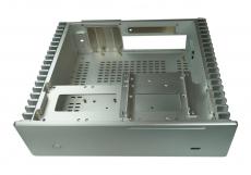 Nanum SE-H100 passiv gekühlt Mini-ITX Gehäuse schwarz