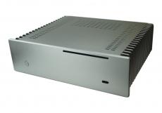 Nanum SE-H100 passiv gekühlt Mini-ITX Gehäuse silber
