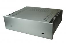 Nanum SE-H100-N Mini-ITX Gehäuse passiv gekühlt silber