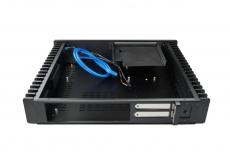 Nanum SE-H60 passiv gekühlt Mini-ITX Gehäuse schwarz