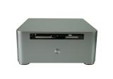 Nanum SE-W80OD Tray-Load Mini-ITX Mini-PC Gehäuse silber