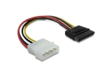 Delock Kabel Power SATA HDD > 4pin Stecker Adapter - gerade