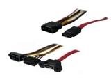 Nanum SE-S4 eSATA SATA-Port 4-pin Molex Adapter Kabel-Set intern